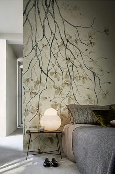 Ramage By Wall And Deco  Contemporary Wallpaper