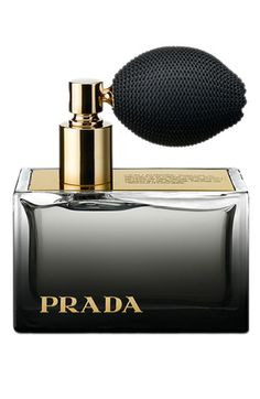 Prada 'L'Eau Ambree' Parfum--The perfume incorporates modernized amber, lemon and May rose essences. Dry-down includes patchouli, oppoponax and vanilla.