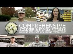 An introduction to the Comprehensive Soldier & Family Fitness program. helps Soldiers, Family members, and Army Civilians stay healthy while faci. Army Family, Military Families, Personal Wellness, Mental Health Support, Family Fitness, Self Development, How To Stay Healthy, Soldiers, Psychology