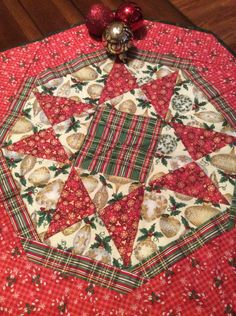 A personal favorite from my Etsy shop https://www.etsy.com/listing/461514938/handmadechristmas-octagonstar-table