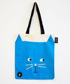 Lazy Oaf Kitty Tote Bag