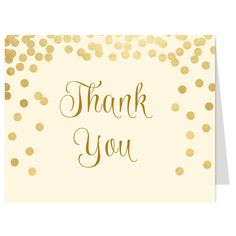 Brunch and Bubbly Ivory Thank You Card