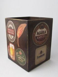 Porta cerveja / porta lápis - Paper St.