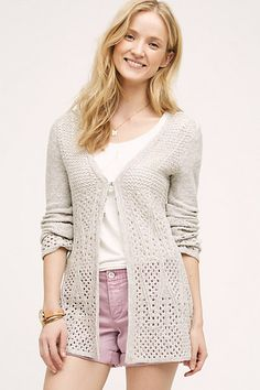 "Great ""staple"" cardigan - especially for summer work in SF"