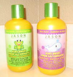 Gluten Free Sharing: JASON Kids Shampoo & Bath Gel