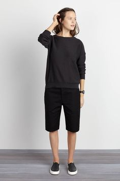Skater Shorts - Black | Emerson Fry