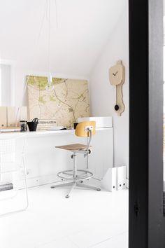 Wooden Dutch Design clock with pendulum Office Desk, Furniture, Design, Dutch, Clock, Home Decor, Watch, Desk Office, Decoration Home