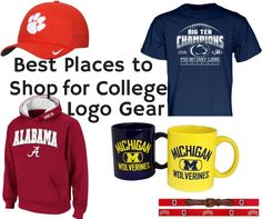 We have rounded up some of our favorite stores to find the perfect college gear.