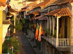 las calles llenas de historia en cartagena colombia