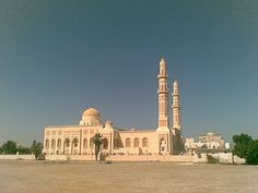 Barka Mosque, Sultanate of #Oman! The largest Mosque in #Barka.  #travel #MyOman #tour