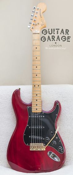 1979 Fender Stratocaster Wine Red all original