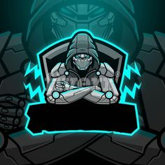 design professional mascot logo for sports, esports, twitch Team Logo Design, Mascot Design, Hacker Logo, Logo D'art, Marshmello Wallpapers, Ninja Logo, Professional Logo Design, How To Make Logo, Game Logo