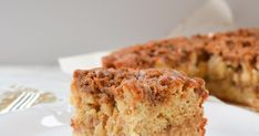 Apple Coffeecake With Cinnamon Brown Sugar Crumb | Serena Bakes Simply From Scratch