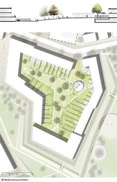 Team 'Sugar Park' releases plan for redevelopment of the Sugar Factory site in Veurne – World Landscape Architecture