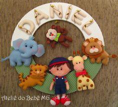 Ateliê+do+Bebê+MG:+Guirlanda+Safari++(+Daniel+)