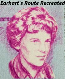 Amelia Rose Earhart will be flying the same route her distant relative took back in 1939.