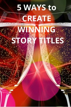 Story Titles/ How to create WINNING story titles/ Write Winning Story Titles/ Writing Tips/ Great Writing Tips Story Titles, Fiction Writing, Point Of View, Writing Inspiration, Writing Tips, 5 Ways, Writers, Scotland, The Past
