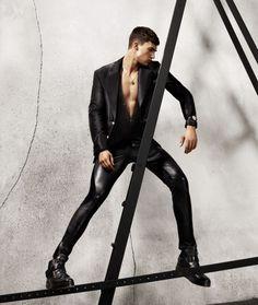 Versace Fall 2015 Menswear Ad Campaign
