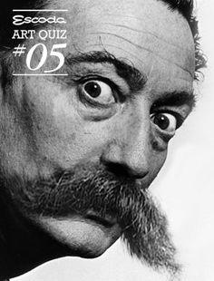 Famous moustache wanted. #dalí #moustache