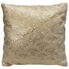 Shop for Fan Decorative 18 x 18 Sequinned Throw Pillow Cover. Free Shipping on orders over $45 at Overstock.com - Your Online Home Decor Outlet Store! Get 5% in rewards with Club O!