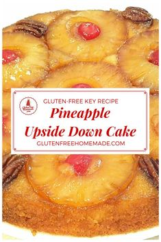 If you are looking for a Pineapple Upside Down Cake recipe, gluten-free homemade from scratch, like the classic family favorite you remember, then, you will love this one!