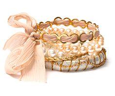 Dynamite Bracelet Set Stacy London, Work Wardrobe, Online Shopping Clothes, Bracelet Set, Fashion Jewelry, Jewellery, Clothes For Women, My Style, Outerwear Women
