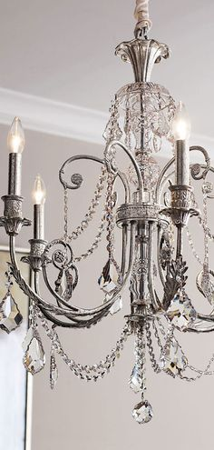 Delphine chandelier | Glamorous decorating ideas #lighting #chandeliers