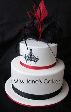 Chandelier Cake  www.missjanescakes.com.au