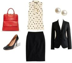 Interview Attire and Advice Sponsored by BeKnown via caphillstyle