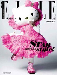 Hello Kitty Elle Cover