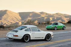 Retro Styled Singer Porsche 911