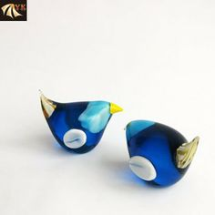 Blowing Murano Glass Animal Small Birds