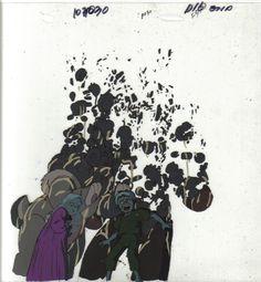 the espers takashi akira comic drawing sketch color in frame cel animation Kiyoko