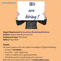 Digital Marketing Executive ad   https://www.facebook.com/Inovaticusmarketing/photos/a.652900511474696.1073741827.652887611475986/955121844585893/?type=3&theater