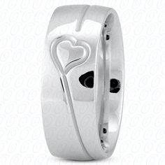 NEW ULTRA FANCY WEDDING BAND.  Available at Hingham Jewelers!