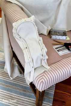 Betsy Speert's Blog: How To Sew a Chair Slipcover
