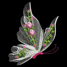 Wonderful Ribbon Embroidery Flowers by Hand Ideas. Enchanting Ribbon Embroidery Flowers by Hand Ideas. Hardanger Embroidery, Silk Ribbon Embroidery, Vintage Embroidery, Brazilian Embroidery Stitches, Learn Embroidery, Machine Embroidery Patterns, Embroidery Kits, Embroidery Supplies, Embroidery Needles