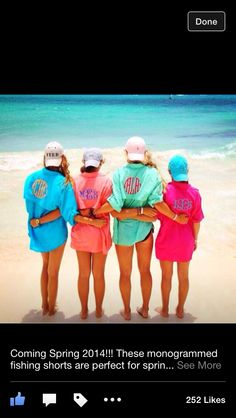 These will be coming to TCP just in time for spring break!!!  Everything monogrammed!!!