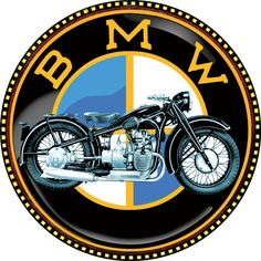 BMW-Motorcycles-vintage-round-t-shirt.png (600×600)