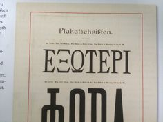 /a visual history of typefaces and graphic styles