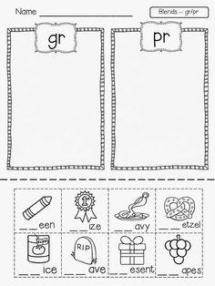 Digraphs: SH TH Worksheets and Activities {NO PREP