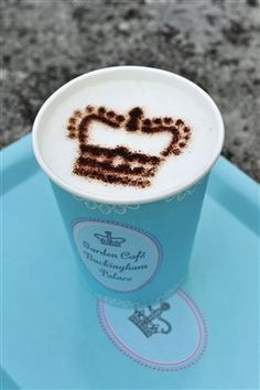 From Buckingham Palace Garden Cafe, your own royal crown! During the summer, at the end of your visit to the State Rooms, you can enjoy a moment of relaxation and refreshment in the Garden Café on the Palace's West Terrace. The Café serves a selection of light refreshments, including tea, coffee, sandwiches and delicious pastries, specially created for Buckingham Palace.