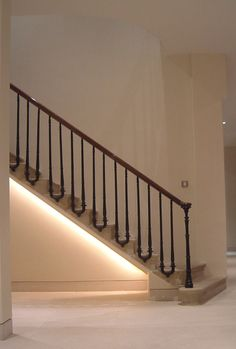 Under stairs lighting Diy Under Stairs Lighting Pinterest 121 Best Corridors Stairs Lighting Images Light Design Lighting