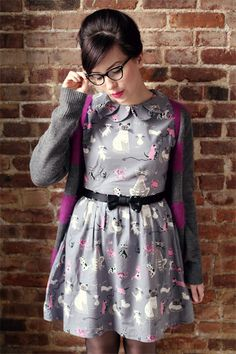 Cat dress for cat lady