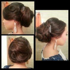 Hair updo!