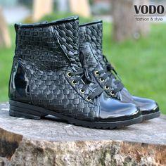 Последни размери дамски боти Клавдия от Vodo