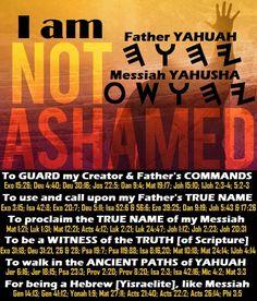 I worship my Father Yahuah and His Messiah - His Son, Yahusha Ha Mashiach!