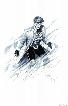 Gambit (click for other awesome comic-book/nerdy art)