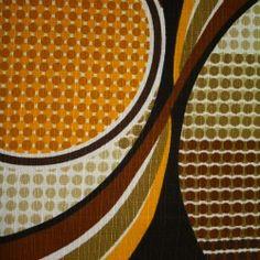 Vintage Fabric  - Dekoplus Circles