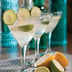 Charmez vos invités dès leur arrivée avec ces délicieux daiquiris citronnés!